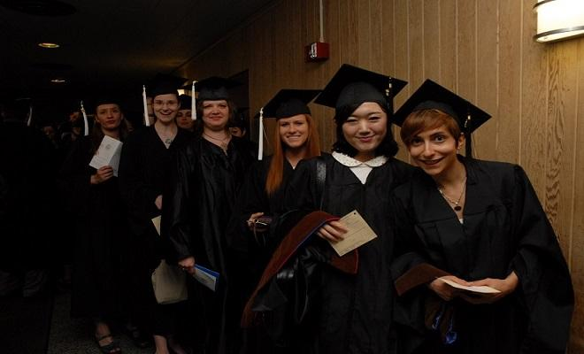 Graduate Students at graduation
